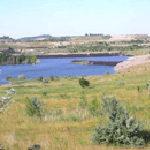 Blick auf das Südfeld-Mücheln am 1. Juli 2006