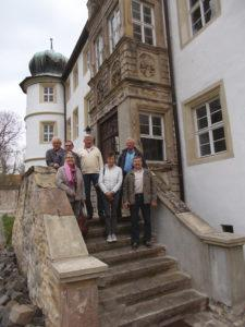 Besichtigung Schloss Frankleben