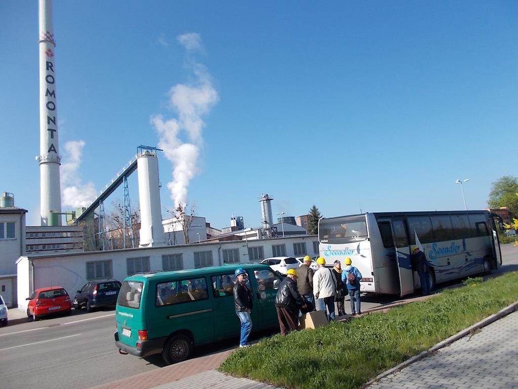 Besuch in Amsdorf ROMONTA