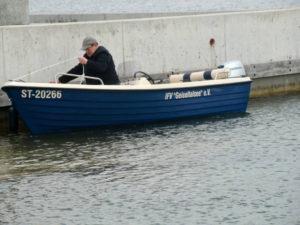 Vereinsboot für Saison vorbereitet