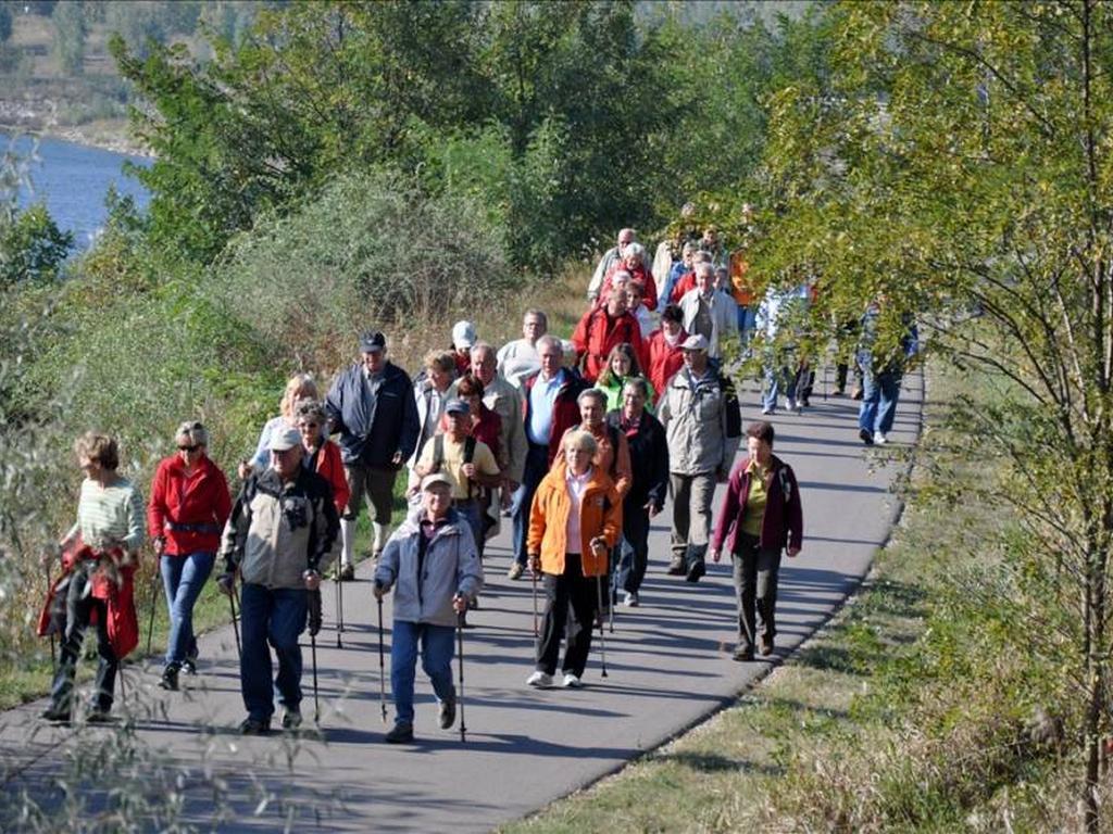 Nordic Walker voran
