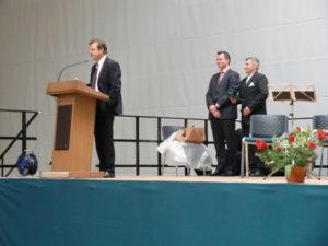 Landrat und Bürgermeister gratulieren