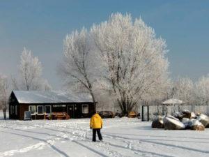 Winter an der Hütte 2012