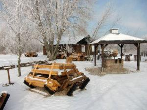 Winter auf der Halbinsel