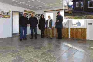 Dreister Diebstahl in und an der Wetterschutzhütte