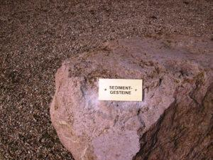 neue Tafel -Sedimentgesteine