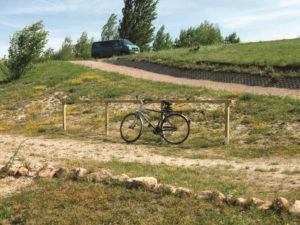 Fahrrad-Parkplätze