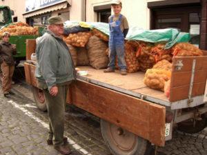 Kartoffelmarkt in Mücheln