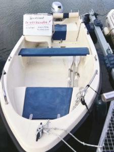Sportboot zu verkaufen