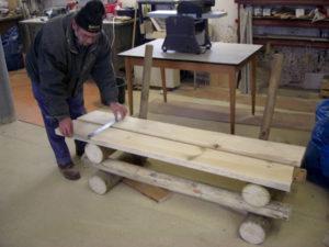 Bänke bauen