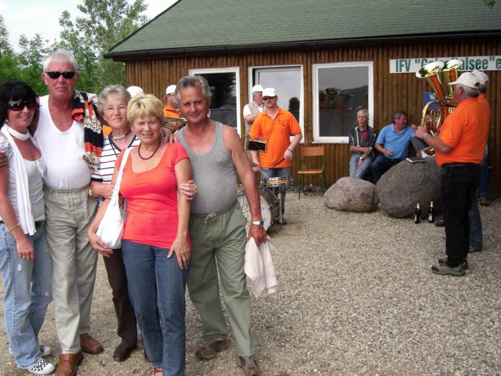 Familie Hofsommer und Gäste aus Ilmenau
