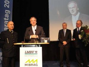 Den Festvortrag hielt in diesem Jahr der Ministerpräsident des Landes SachsenAnhalt, Dr. Reiner Haseloff