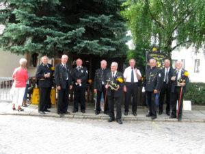 Festumzug in Bad Lauchstädt 01.08.10 - warten auf Abmarsch