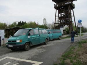 """Am Aussichtsturm """"Leonhardt"""" in Braunsbedra/OT Neumark"""