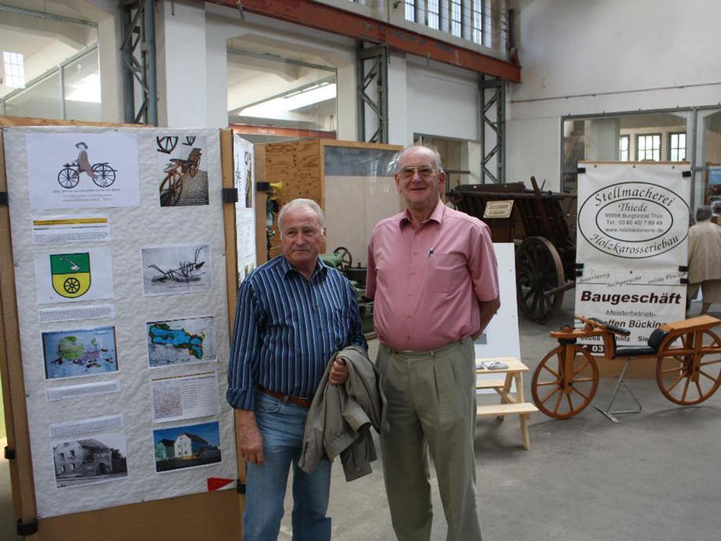 Herr Roland Schönhardt und Herr Peter Kassler