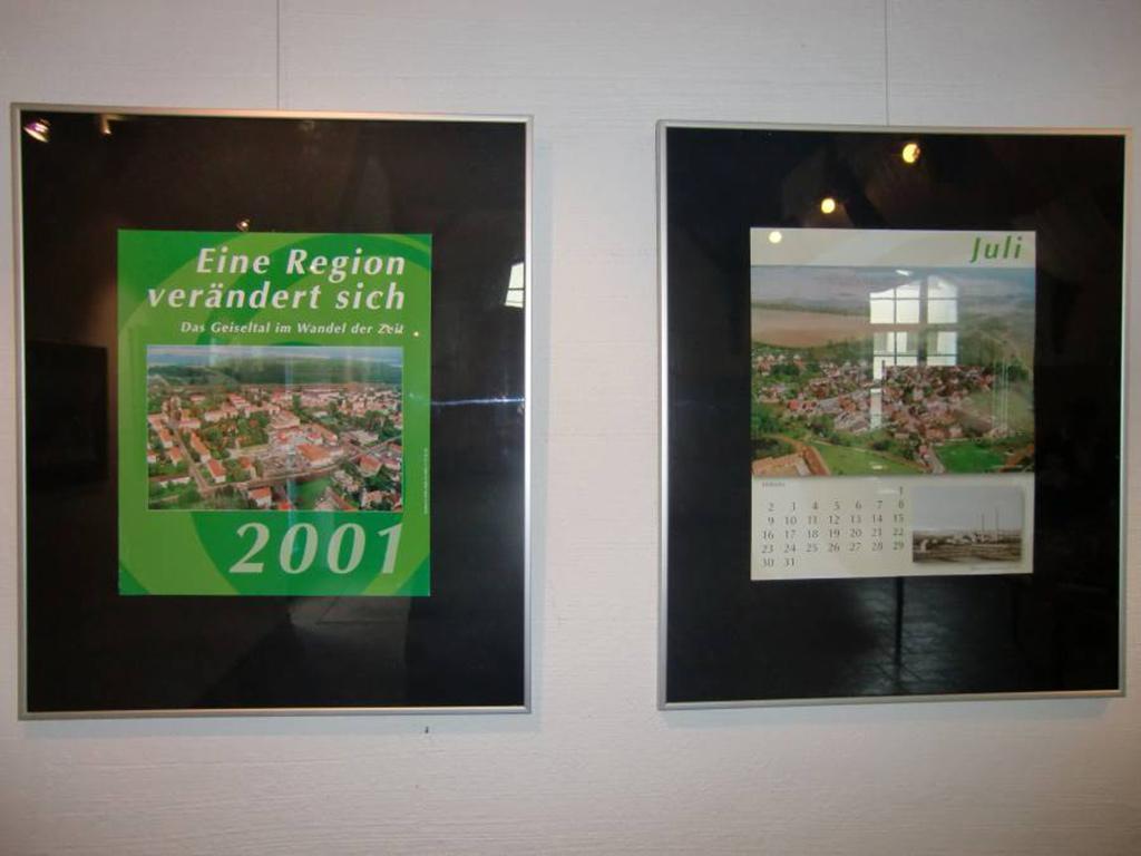 Präsentation der Jahreskalender des IFV im Bürgersaal