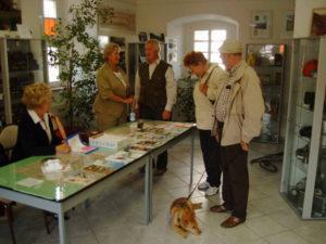 Infostand Stadtfest in Mücheln