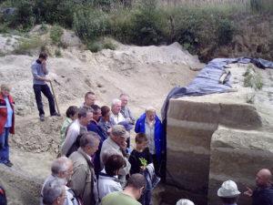 Technologische / Archäologische Exkursion zur Ausgrabungsstätte in Neumark-Nord