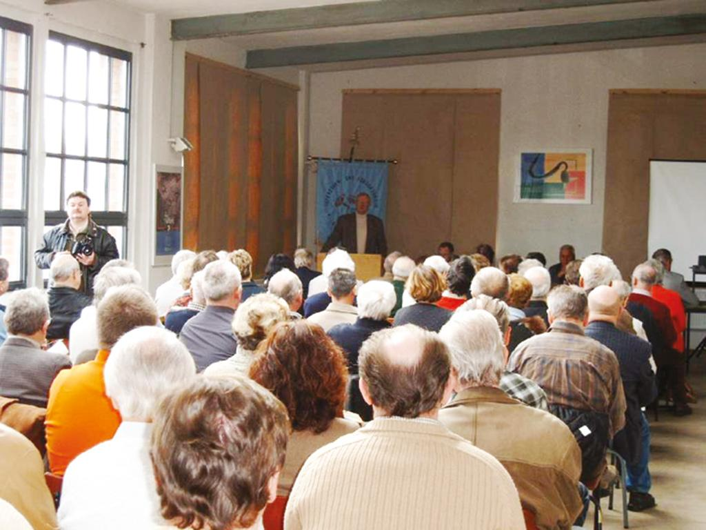 Auditorium zur Mitgliedervollversammlung
