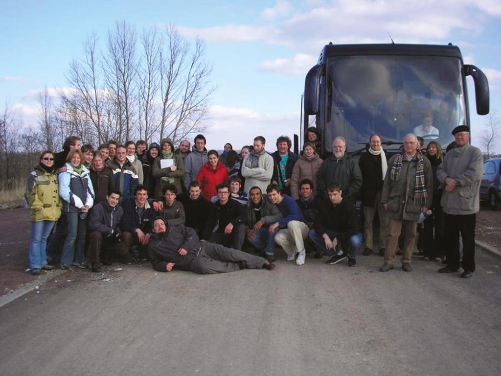 Besucher aus Belgien im Geiseltal