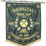 Fahne 300 Jahre Bergbau