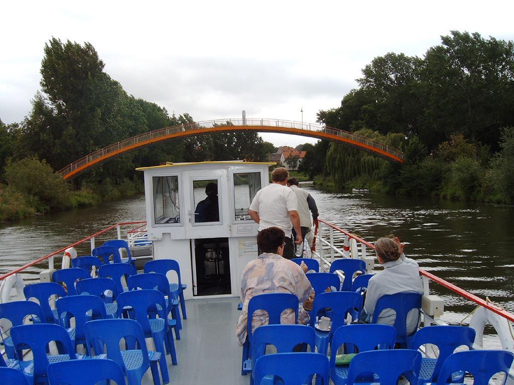 Schifffahrt auf der Saale