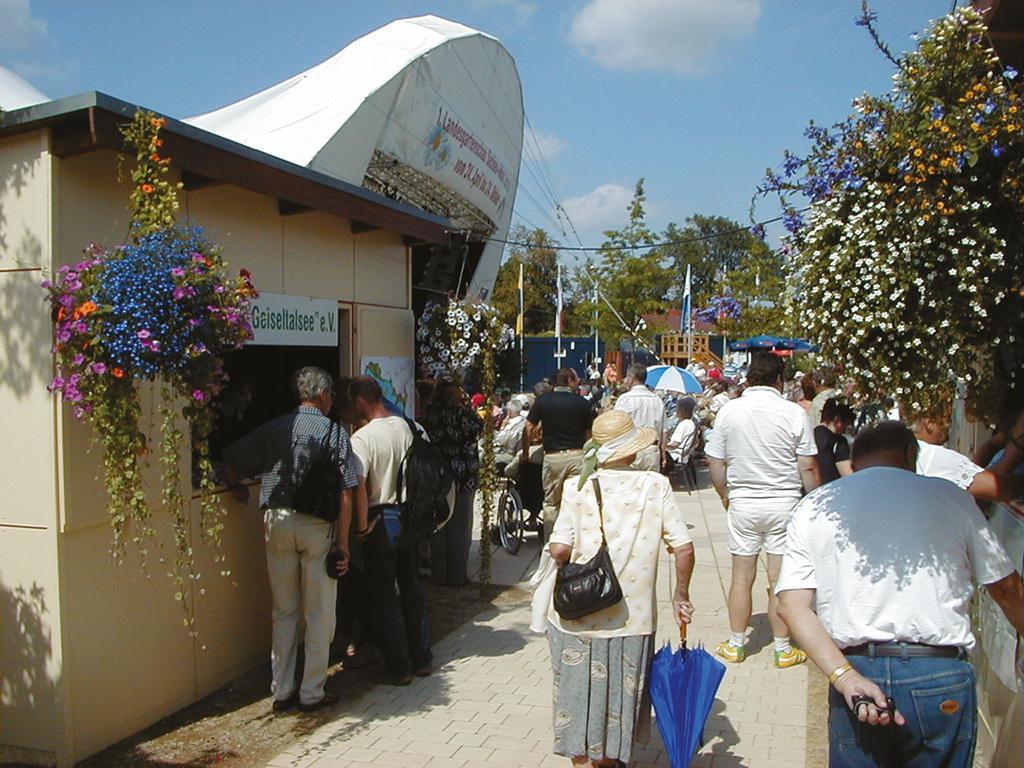 Landesgartenausstellung in Zeitz